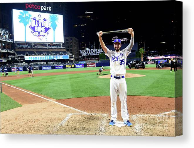 People Canvas Print featuring the photograph 87th Mlb All-star Game 1 by Harry How