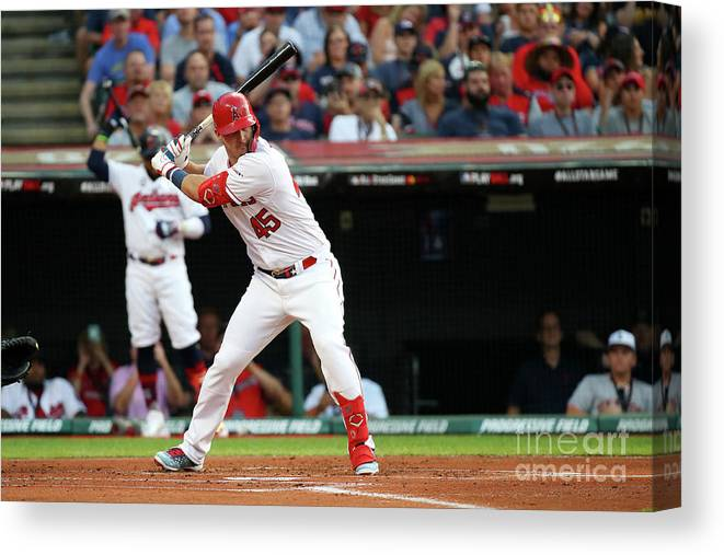 People Canvas Print featuring the photograph 2019 Mlb All-star Game, Presented By 2019 by Gregory Shamus
