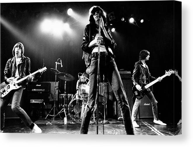 canvas The Ramones on Stage Art print poster