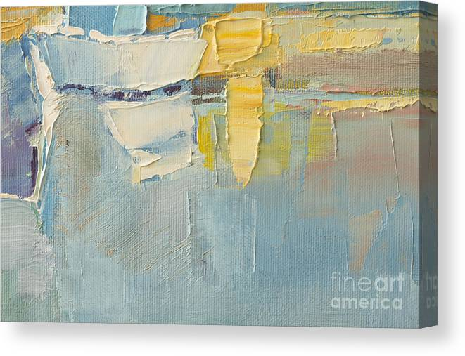 Brush Canvas Print featuring the photograph Abstract Wallpaper Of Oil Painting With by Humbak