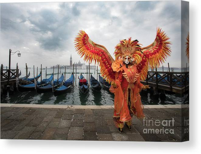 Carnival Canvas Print featuring the photograph Amazing Morning At San Marco by Linda D Lester