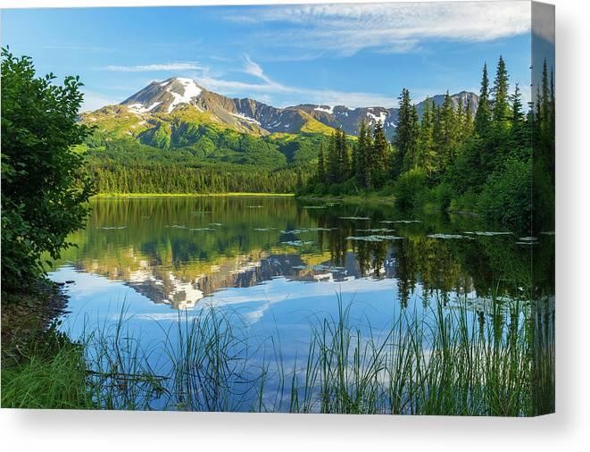 Calm Canvas Print featuring the photograph Calm by Chad Dutson
