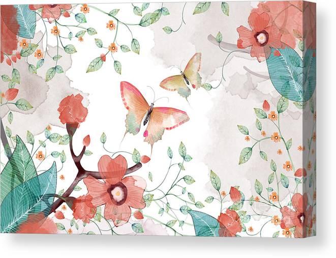 Fancy Canvas Print featuring the digital art Creative Illustration And Innovative by Nextmarsmedia