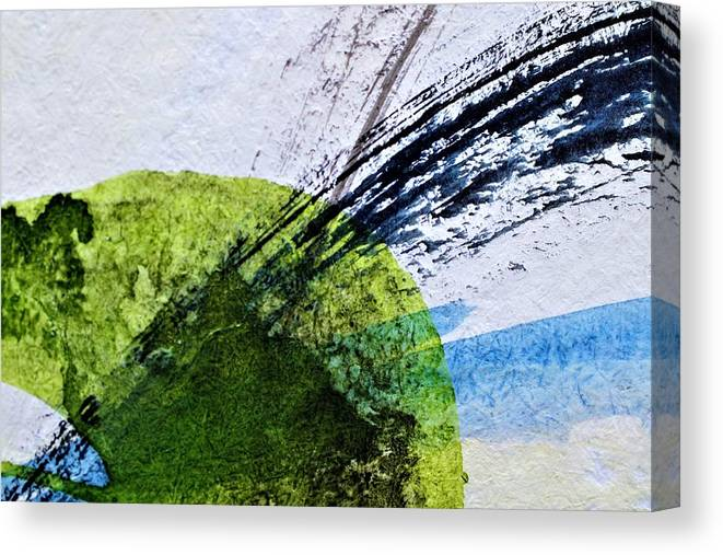 Modern Art Canvas Print featuring the painting GBB by Stuart Peterman