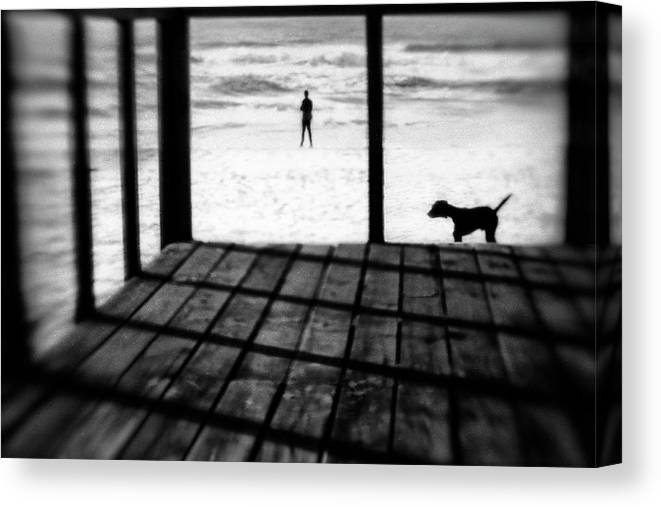Costa Canvas Print featuring the photograph Left Behind by Paulo Abrantes