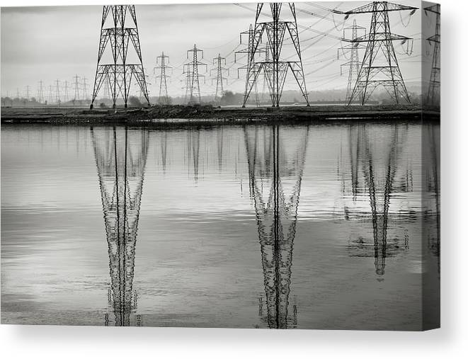 Tranquility Canvas Print featuring the photograph Scottish Power by Billy Currie Photography