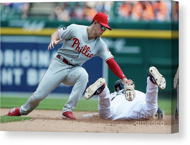 People Canvas Print featuring the photograph Scott Kingery by Duane Burleson
