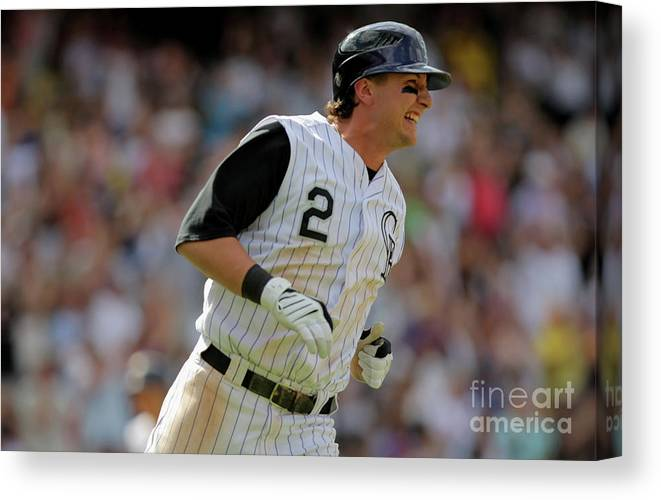 People Canvas Print featuring the photograph Eric Young by Doug Pensinger