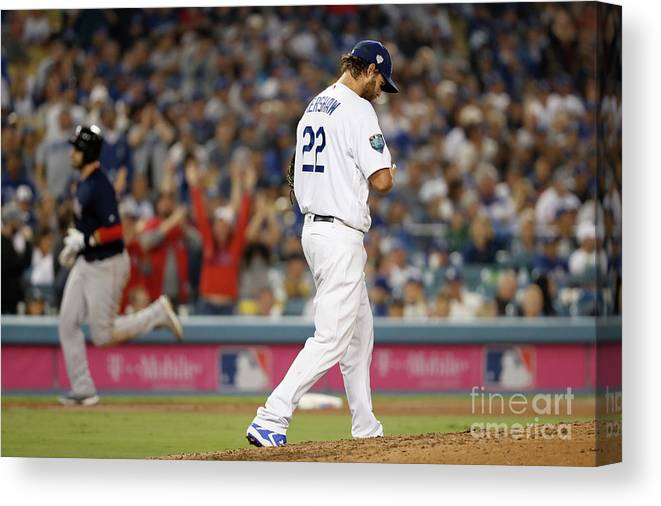 People Canvas Print featuring the photograph J. D. Martinez by Sean M. Haffey