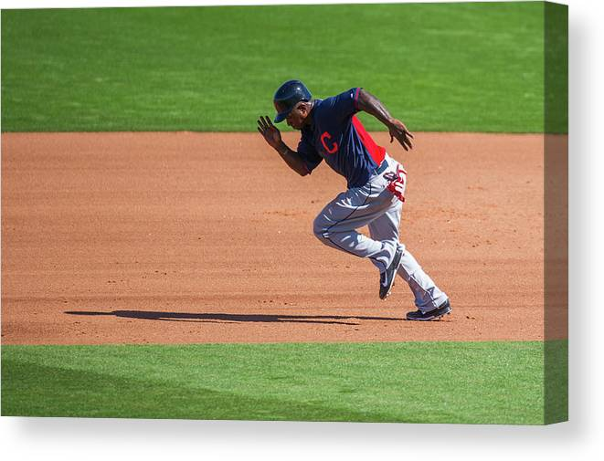 Cleveland Indians Canvas Print featuring the photograph Red Morgan by Rob Tringali