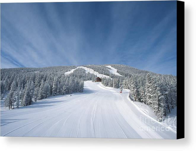 Atmosphere Canvas Print featuring the photograph Red Lodge by Chris Selby
