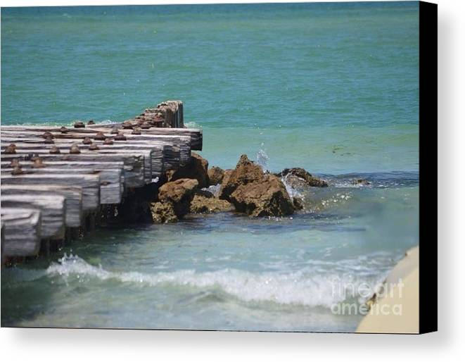 Pier Canvas Print featuring the photograph Photography Art by Dianamar Oz