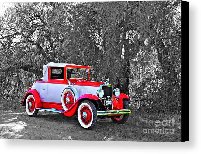 Graham-paige Canvas Print featuring the photograph 1929 Beauty by Christopher Edmunds