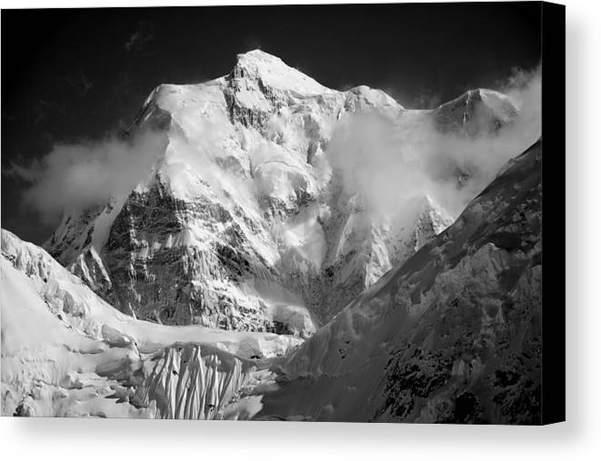 Mt. Hunter Canvas Print featuring the photograph Mt. Hunter by Alasdair Turner