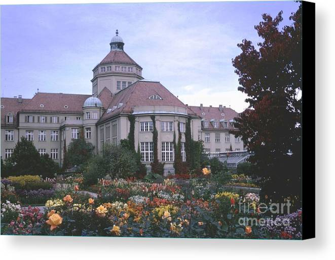 Germany Canvas Print featuring the photograph Castle Ludwig II by Ted Pollard