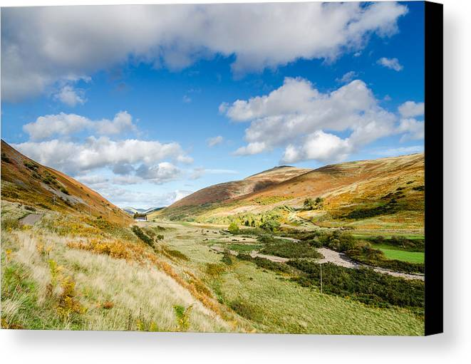 Northumberland Canvas Print featuring the photograph College Valley by David Head