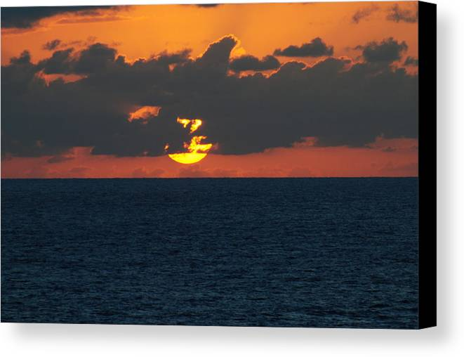 Orange Canvas Print featuring the photograph Going 4 by Lyndall Hamlett