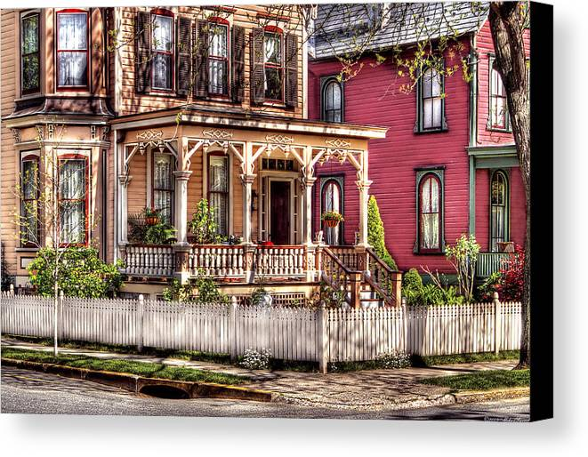 Savad Canvas Print featuring the House - Country Victorian by Mike Savad
