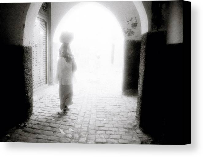 Dream Canvas Print featuring the photograph Into The Light by Shaun Higson