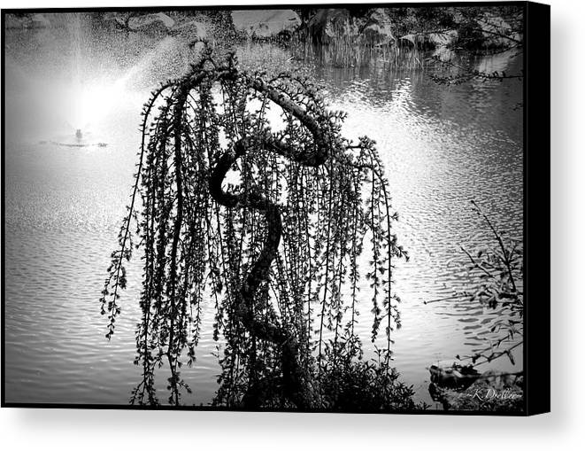 Water Canvas Print featuring the photograph Serpentine by Kelly Dreller