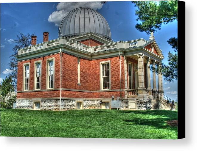 Astronomy Canvas Print featuring the photograph Stargazers by Paul Lindner