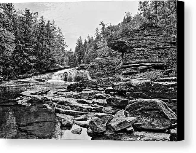 Swallow Falls Canvas Print featuring the photograph Swallow Falls by SCB Captures