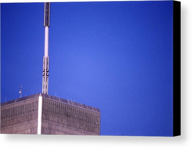 World Trade Center Canvas Print featuring the photograph Tower One by Jon Neidert