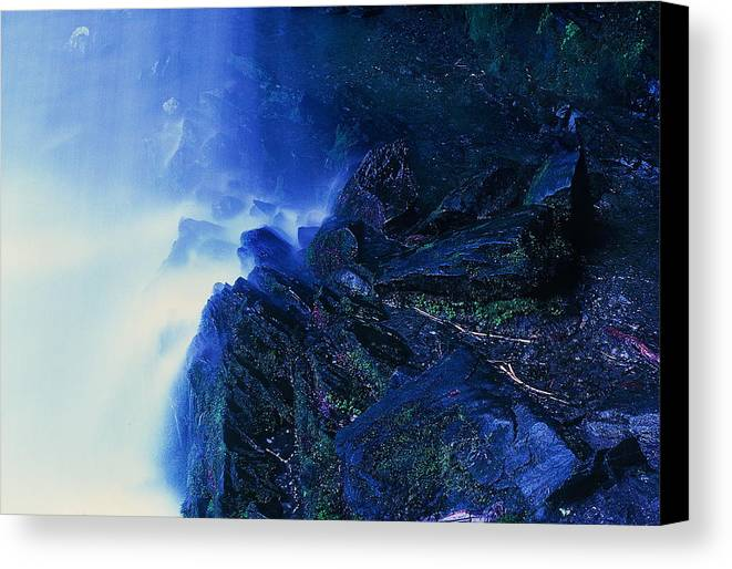 Fine Art Canvas Print featuring the photograph Underneath by Rodney Lee Williams