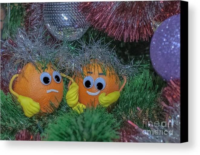 Photosmile Canvas Print featuring the photograph What If They Will Find Then They Will Eat Us Because It Is Are People by Lyudmila Prokopenko