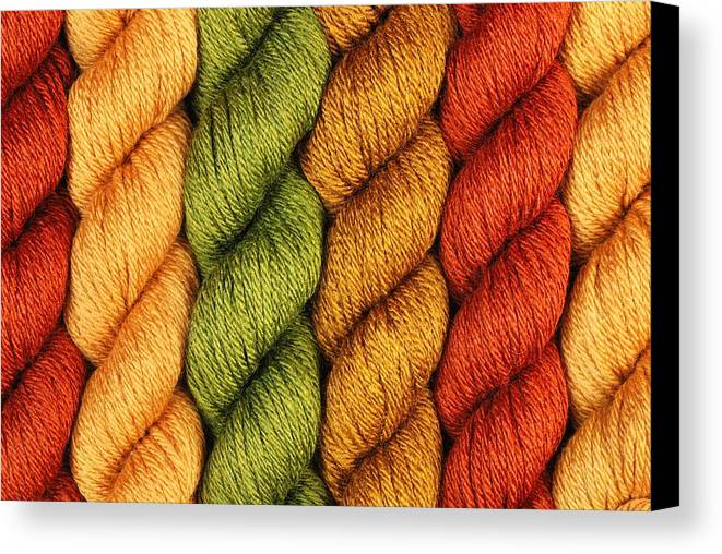 Rust Canvas Print featuring the photograph Yarn With A Twist by Jim Hughes