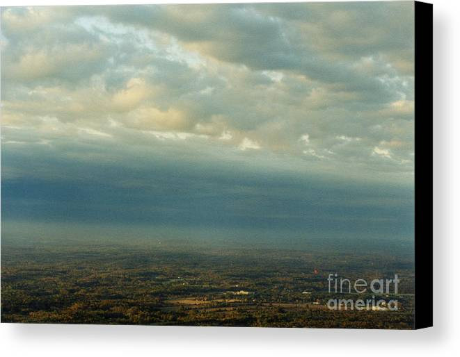 Birds Canvas Print featuring the photograph A Majestic Birds Eye View by Thomas Luca