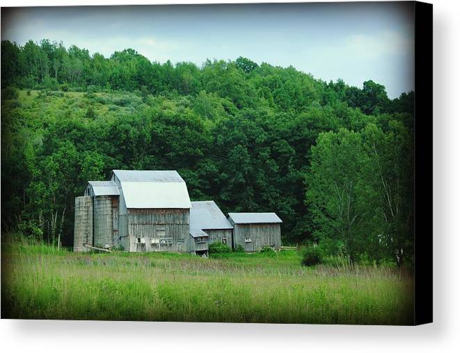 Barn Canvas Print featuring the photograph Barn by April Robert