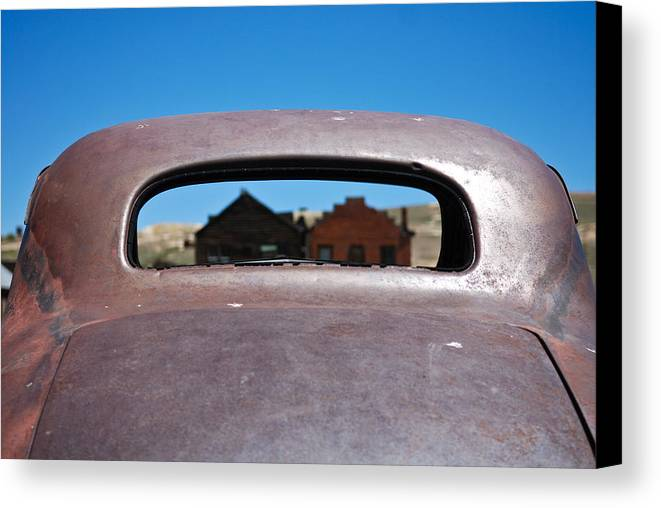 Old West Canvas Print featuring the photograph Bodie Ghost Town I - Old West by Shane Kelly