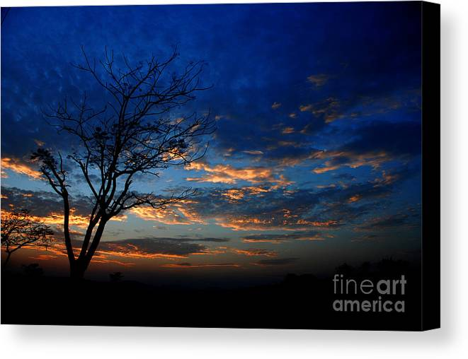 Sky Canvas Print featuring the photograph Depth by Dattaram Gawade