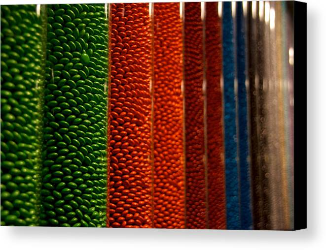 City Canvas Print featuring the photograph M And Ms by Mike Horvath