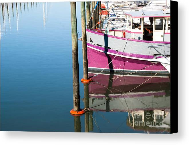 Retro Canvas Print featuring the photograph Marina by Yurix Sardinelly