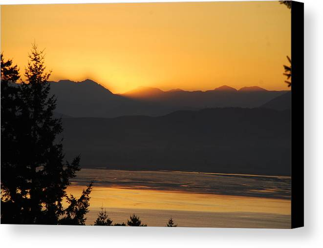 Morning Canvas Print featuring the photograph Morning Has Broken by Michael Merry