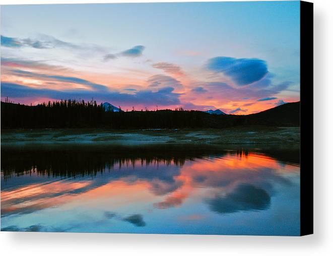 Colorado Canvas Print featuring the photograph November Sunrise by Bob Berwyn