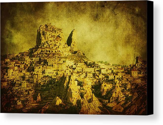 Cappadocia Canvas Print featuring the photograph Persian Empire by Andrew Paranavitana