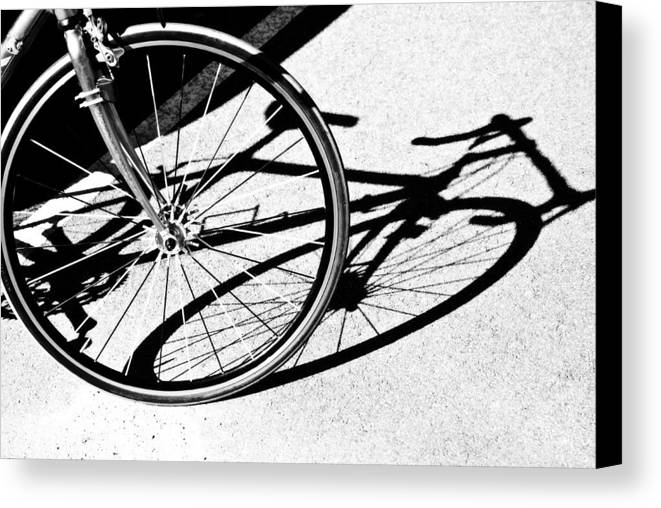 Sport Canvas Print featuring the photograph Ready To Ride by Susan Leggett