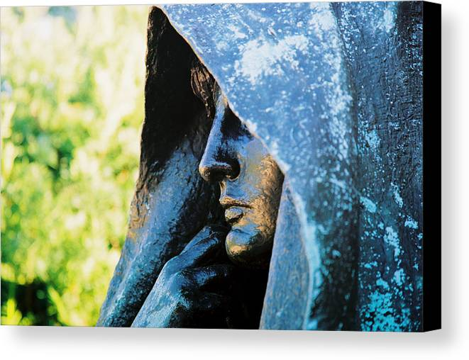 Statue Canvas Print featuring the photograph Statue by Claude Taylor