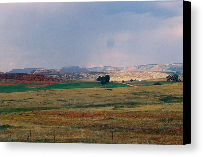 Storm Canvas Print featuring the photograph Storms Coming by Trent Mallett