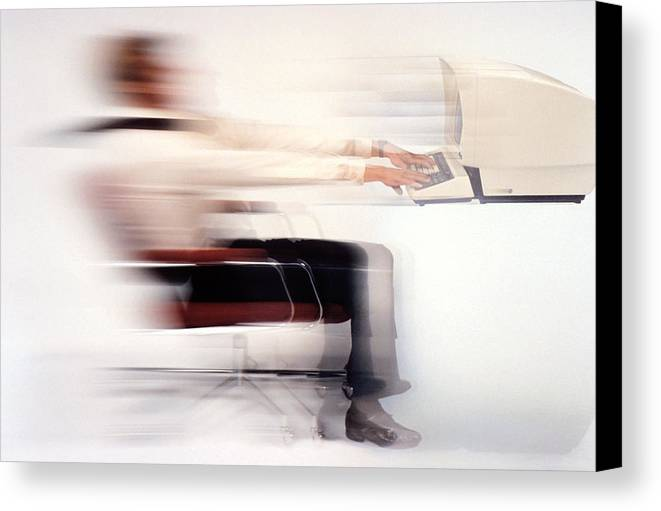 Speed Canvas Print featuring the photograph Terminal Speed by Jerry McElroy
