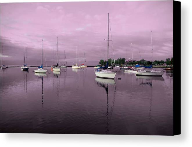 Photo Canvas Print featuring the photograph Still Waters by Ryan McIntyre