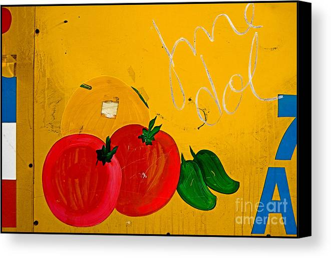 Color Canvas Print featuring the photograph 7 A by Curtis Staiger