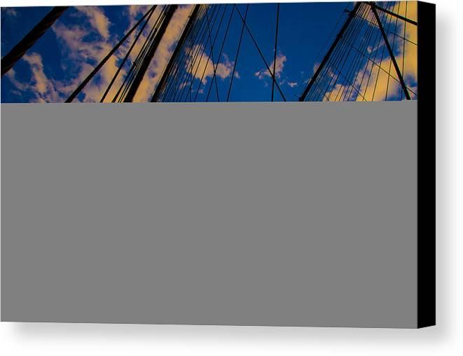 Bridge Canvas Print featuring the photograph Brooklyn Bridge by Patrick Flynn