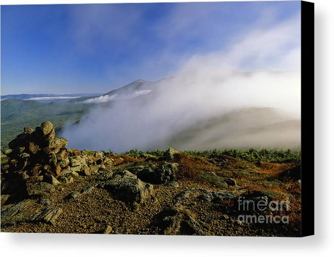 Adventure Canvas Print featuring the photograph Appalachian Trail - White Mountains New Hampshire Usa by Erin Paul Donovan