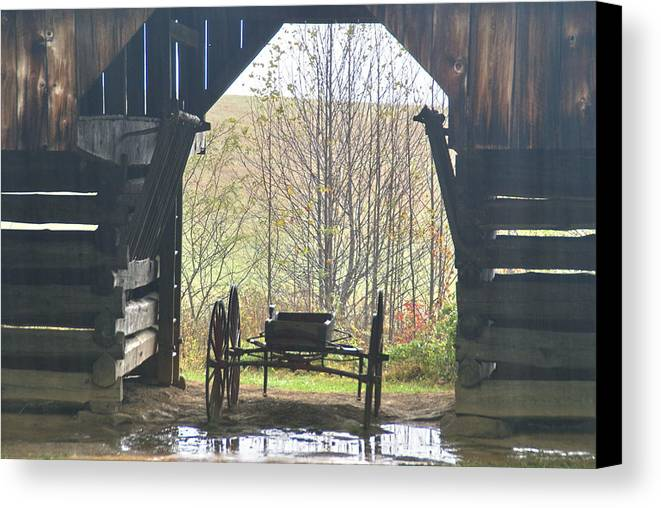 Buggy Canvas Print featuring the photograph Buggy At Rest by Bj Hodges