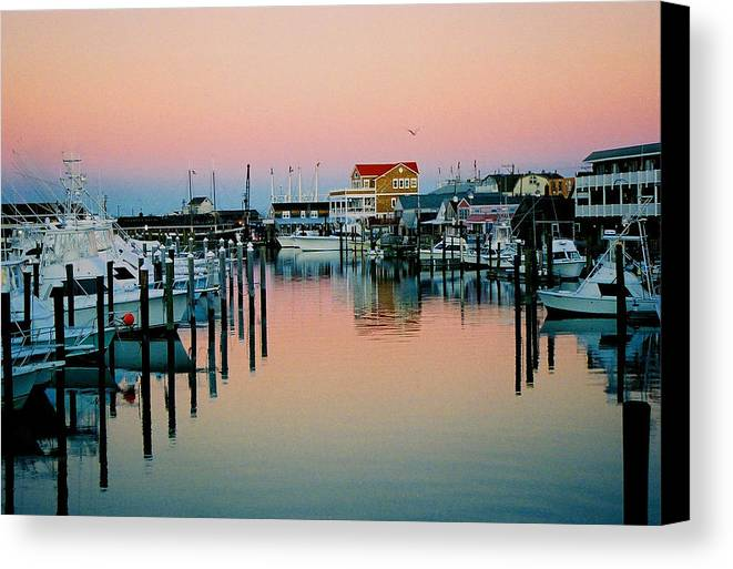 Cape May Canvas Print featuring the photograph Cape May After Glow by Steve Karol