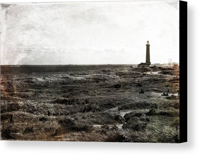 Lighthouse Canvas Print featuring the photograph Dimensions by Randi Grace Nilsberg